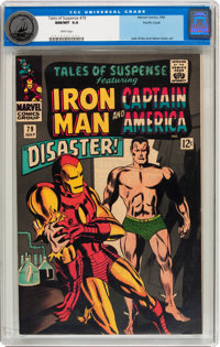Tales of Suspense #79 Pacific Coast pedigree (Marvel, 1966) CGC NM/MT 9.8 White pages