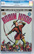 Golden Age (1938-1955):Classics Illustrated, Classic Comics #7 Robin Hood - Original Edition (Gilberton, 1942)CGC VF 8.0 Off-white pages....