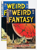 Golden Age (1938-1955):Science Fiction, Weird Fantasy #13 Group (EC, 1952-73).... (Total: 2 Comic Books)