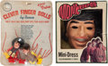 Music Memorabilia:Memorabilia, Monkees - Davey Jones Halloween Costume and Monkees FingerDolls.... (Total: 2 Items)