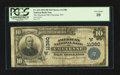 National Bank Notes:Wyoming, Cheyenne, WY - $10 1902 Plain Back Fr. 632 The American NB Ch. #(W)11380. ...