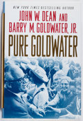 Books:Americana & American History, John W. Dean and Barry M. Goldwater, Jr. INSCRIBED. PureGoldwater. Palgrave, 2008. First edition, first printing. ...