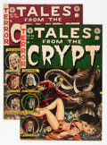 Golden Age (1938-1955):Horror, Tales From the Crypt #32 and 35 Group (EC, 1952-53) Condition:Average FN-.... (Total: 2 Comic Books)