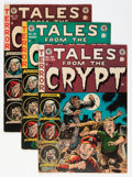 Golden Age (1938-1955):Horror, Tales From the Crypt #39-41 Group (EC, 1954-55) Condition: AverageVG/FN.... (Total: 3 Comic Books)