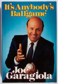 Books:Sporting Books, Joe Garagiola. INSCRIBED. It's Anybody's Ballgame.Contemporary Books, 1988. First edition, first printing. Signed...