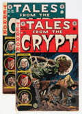 Golden Age (1938-1955):Horror, Tales From the Crypt #37 and 38 Group (EC, 1954) Condition: AverageVG+.... (Total: 2 Comic Books)