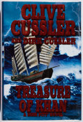 Books:Mystery & Detective Fiction, Clive Cussler and Dirk Cussler. SIGNED. Treasure of Khan.Putnam, 2006. First edition, first printing. Signed by b...