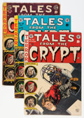 Golden Age (1938-1955):Horror, Tales From the Crypt #42-45 Group (EC, 1954-55).... (Total: 4 ComicBooks)