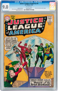 Silver Age (1956-1969):Superhero, Justice League of America #4 (DC, 1961) CGC VF/NM 9.0 Off-white pages....