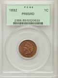 Proof Indian Cents: , 1892 1C PR65 Red PCGS. PCGS Population (43/14). NGC Census: (26/28). Mintage: 2,745. Numismedia Wsl. Price for problem free...