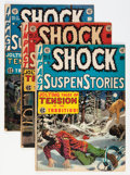 Golden Age (1938-1955):Horror, Shock SuspenStories #3-5 Group (EC, 1952) Condition: AverageVG+.... (Total: 3 Comic Books)