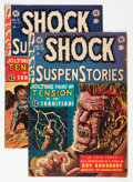 Golden Age (1938-1955):Horror, Shock SuspenStories #7 and 9 Group (EC, 1953) Condition: AverageVG/FN.... (Total: 2 Comic Books)