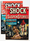 Golden Age (1938-1955):Horror, Shock SuspenStories #6 Group (EC, 1952-73).... (Total: 2 ComicBooks)
