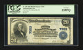 National Bank Notes:Pennsylvania, Marysville, PA - $20 1902 Plain Back Fr. 650 The First NB Ch. #7353. ...