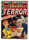Golden Age (1938-1955):Horror, Three Dimensional Tales from the Crypt of Terror #2 (EC, 1954)Condition: VG....