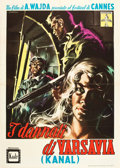 "Movie Posters:War, Kanal (CEI, 1958). Italian 2 - Foglio (39.5"" X 55"").. ..."