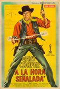 "Movie Posters:Western, High Noon (Monsen Films, R-1950s). Argentinean Poster (29.5"" X 43""). Western.. ..."