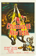 """Movie Posters:Science Fiction, The Colossus of New York (Paramount, 1958). One Sheet (27"""" X 41"""")....."""