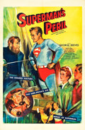 "Movie Posters:Adventure, Superman's Peril (20th Century Fox, 1954). One Sheet (27"" X 41"")....."