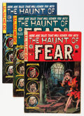 Golden Age (1938-1955):Horror, Haunt of Fear #22-25 Group (EC, 1953-73) Condition: Average VG+....(Total: 5 Comic Books)