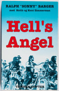 "Books:Americana & American History, Ralph ""Sonny"" Barger. SIGNED. Hell's Angel. Tiderne Skifter,2001. First Danish edition, first printing. Signed by..."