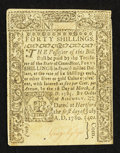 Colonial Notes:Connecticut, Connecticut July 1, 1780 40s Extremely Fine-About Uncirculated,CC.. ...