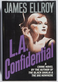 Books:Mystery & Detective Fiction, James Ellroy. SIGNED. L.A. Confidential. Mysterious Press,1990. First edition, first printing. Signed by the ...