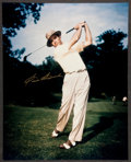 Golf Collectibles:Autographs, Sam Snead Signed Oversized Photograph. ...