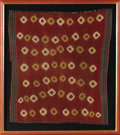 Pre-Columbian:Textiles, Tunic. Nasca. 100 B.C. - A.D. 250. Cotton and camelid fibers.Length 38 5/8 in. Width 35 5/8 in.. The plain weave cochine...
