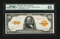 Large Size:Gold Certificates, Fr. 1200 $50 1922 Mule Gold Certificate PMG Choice Extremely Fine 45.. ...