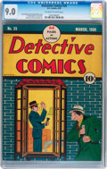 Golden Age (1938-1955):Crime, Detective Comics #25 (DC, 1939) CGC VF/NM 9.0 Off-white to white pages....