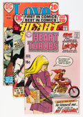 Silver Age (1956-1969):Romance, Heart Throbs Group (DC, 1964-72) Condition: Average VG.... (Total: 35 Comic Books)