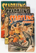 Pulps:Science Fiction, Assorted Science Fiction Pulps Box Lot (Various, 1941-55)Condition: Average GD/VG....
