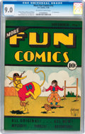Platinum Age (1897-1937):Miscellaneous, More Fun Comics #15 (DC, 1936) CGC VF/NM 9.0 Off-white to white pages....