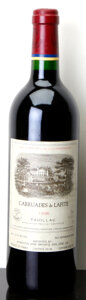 Red Bordeaux, Carruades de Lafite 1996 . Pauillac. Bottle (1). ... (Total:1 Btl. )