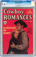 Golden Age (1938-1955):Romance, Cowboy Romances #2 Ohio pedigree (Marvel, 1949) CGC NM+ 9.6Off-white to white pages....