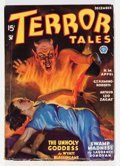 Pulps:Horror, Terror Tales - December '34 (Popular, 1934) Condition: VG....