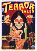 Pulps:Horror, Terror Tales - October '34 (Popular, 1934) Condition: VG-....