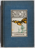 Books:Natural History Books & Prints, John Henry Comstock. How to Know the Butterflies. Appleton, 1904. First edition, first printing. Spine darkened....