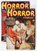 Pulps:Horror, Horror Stories 1936 Group (Popular, 1936).... (Total: 2 ComicBooks)