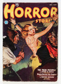 Pulps:Horror, Horror Stories February '37 (Popular, 1937) Condition: VG-....