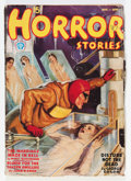 Pulps:Horror, Horror Stories August '37 (Popular, 1937) Condition: VG-....