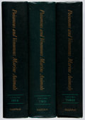 Books:Natural History Books & Prints, Bruce W. Halstead. Poisonous and Venomous Marine Animals of the World. Vol. I-III. US Govt., 1965-1970. First ed... (Total: 3 Items)