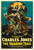 "Movie Posters:Western, The Vagabond Trail (Fox, 1924). One Sheet (27"" X 41"").. ..."