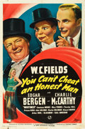 "Movie Posters:Comedy, You Can't Cheat an Honest Man (Universal, 1939). One Sheet (27"" X 41"").. ..."