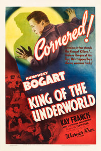 """King of the Underworld (Warner Brothers, 1939). One Sheet (27"""" X 41"""")"""