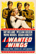 "Movie Posters:War, I Wanted Wings (Paramount, 1941). One Sheet (27"" X 41"") Style B....."