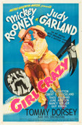 "Movie Posters:Musical, Girl Crazy (MGM, 1943). One Sheet (27"" X 41"") Style D.. ..."
