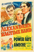 "Movie Posters:Musical, Alexander's Ragtime Band (20th Century Fox, 1938). One Sheet (27"" X41"") Style A.. ..."
