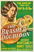 """Movie Posters:Crime, The Brasher Doubloon (20th Century Fox, 1946). One Sheet (27"""" X41"""").. ..."""